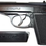 Kimar Lady K (Walther PPK) Black Top Firing 8mm.PAK Blank gun