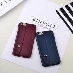เคสไอโฟน 7 ( Silicone Case) พร้อมที่วางฝ่ามือ สีกรมท่า
