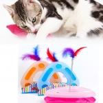 ของเล่นแมว วงล้อสามเหลี่ยม