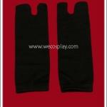 ถุงเท้าทะบิ สีดำ สำหรับใส่กับรองเท้าเกตะ คู่กับชุดกิโมโน ยูกาตะ