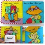 หนังสือนิทาน Peekaboo I Love You! / จ๊ะเอ๋ หนูรักพ่อกับแม่ครับ