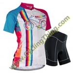 เสื้อแขนสั้นปั่นจักรยานสำหรับผู้หญิง **พร้อมส่ง