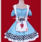 ชุดเมดเซ็กซี่อลิสสีฟ้า (Light Blue Sexy Alice Maid Costume)