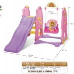 ชิงช้า สไลเดอร์ เกาหลี Yaya CCOMO Slide & Swing สีชมพู