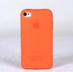 เคสไอโฟน 5/5s/SE (Case Iphone 5/5s/SE) Hard Case เคสไอโฟนรุ่นบางเฉียบ สีส้ม