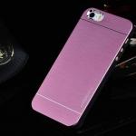 เคสไอโฟน 6/6s เคสไอโฟน Hard Case กรอบอลูมิเนียมสีชมพู