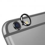 (สีดำ) วงแหวนป้องกันเลนส์กล้อง Iphone 6/6s