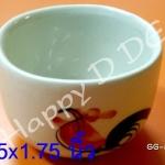 ของชำร่วย แก้วเซรามิค แก้วตราไก่ GG-ar03