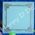 การ์ดแต่งงาน ราคาถูก การ์ดแนววินเทจ มาใหม่ ราคาไม่เกิน10บ. (มี 3 สี)