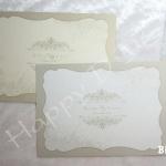 BK18 การ์ดแต่งงานแบบเดี่ยว (มี 2 สี)