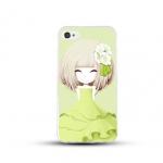 เคสไอโฟน 6 / 6s (TPU CASE) สาวเกาหลีน่ารัก แบบ 13