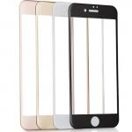ฟิล์มกระจก 3D เต็มจอ แกร่ง ทน 9H สำหรับ Iphone 6Plus/6sPlus (สีขาว)