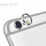 (สีเงิน) วงแหวนป้องกันเลนส์กล้อง Iphone 6/6s