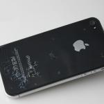 ฟิล์มกันรอยไอโฟน 4/4s ลาย 3D Butterfly (2ด้าน)