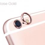 (สีทองชมพู) วงแหวนป้องกันเลนส์กล้อง Iphone 6/6s