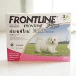 Frontline Plus สุนัข 0-5 kg. (1 หลอด 155.-)
