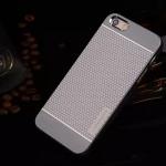 เคสไอโฟน 6/6s เคสไอโฟน Hard Case Motomo กรอบอลูมิเนียมเกาหลีลายจุด สีเทา
