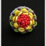 แหวนโลลิต้า เค้กบลูเบอรี่ หน้าผลไม้ Lolita Ring