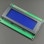 LCD 2004 20x4 Character LCD Blue Screen Module