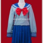 ชุดนักเรียนญี่ปุ่นของมิซึโนะ อามิ จาก Sailor Moon (Mizuno Ami School Uniform Cosplay Costume)