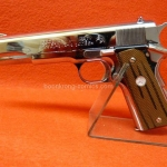 Marushin MkIV Series 70 Government Chrome Silver Model Gun