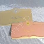 BW48 การ์ดแต่งงานสีทอง-เงิน (มี 2 สี)