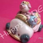 ของชำร่วย ตุ๊กตาปั้น ดุ๊กดิ๊ก เซรามิค PD-ka13