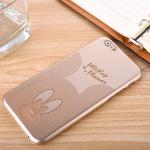 เคสไอโฟน 6/6s (Hard Case สีทอง) Mickey Mouse