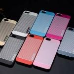 เคสไอโฟน 6/6s เคสไอโฟน Hard Case Motomo กรอบอลูมิเนียมเกาหลีลายจุด สีเงิน
