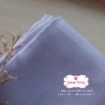 ผ้าลินิน 1/4 เมตร (50x65 cm.) สีม่วงพาสเทล