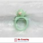 แหวนโลลิต้า รูปกาน้ำชา สีฟ้า Blue Tea Kettle Lolita Ring