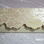 HWC5725 การ์ดแต่งงานมาใหม่
