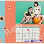 การ์ดแต่งงานรูปภาพ HDD-227