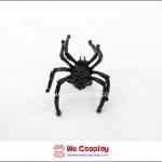 แหวนโกธิคพังค์ แมงมุมดำประดำเพชรดำ Black Spider Gothic Punk Ring