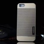 เคสไอโฟน 6/6s เคสไอโฟน Hard Case Motomo กรอบอลูมิเนียมเกาหลีลายจุด สีทอง