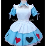 ชุดเมดสกายบลูอลิซ Sky Blue Alice Maid Costume สีฟ้า