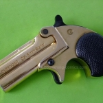 Kimar M1866 Derringer Gold Finish .22Acorn Blank gun