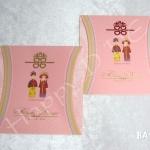 การ์ดแต่งงาน แบบจีน สไตล์จีน น่ารัก กิ๊ฟเก๋ แนวการ์ตูน ชิคchic