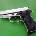 Ekol P29 Chrome , cal. 9mm P.A.K. Blank Gun