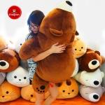 หมีหลับตัวใหญ่ นุ่มนิ่ม ใยไมโครนุ่ม