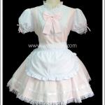 ชุดเมดพิงค์แซสซี่ Pink Sassy Maid Costume สีชมพู