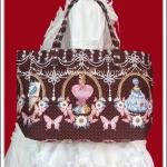 กระเป๋าโกธิคโลลิต้า ลายคอสเมติก Cosmetic Print Gothic Lolita Bag