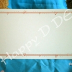 BB18 การ์ดแต่งงานแบบเดี่ยว (มี 2 สี)**
