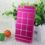เคสไอโฟน 6/6s เคสไอโฟน Hard Case กรอบอลูมิเนียมสีชมพูเข้ม