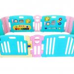 คอกกั้นเด็ก Meeso สี Aquamarine อความารีน ไซส์ M รุ่น playgame + melody