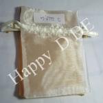 TSB-AN710cm ขนาด 7x10 cm.(2.7x3.9 นิ้ว) ถุงผ้าแก้ว ถุงผ้าไหมแก้ว (มีหลายสี )