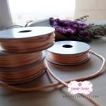 เชือกหางหนูสีทอง 1ม้วน (ยาว 2 หลา)