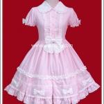 เดรสสวีทตี้พิงกี้โลลิต้า (Sweety Pinky Lolita Dress)