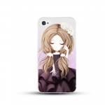 เคสไอโฟน 6 / 6s (TPU CASE) สาวเกาหลีน่ารัก แบบ 8