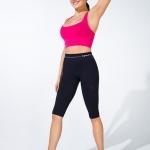 """ชุดออกกำลังกาย ชวยลดกระชับ """"แบบกางเกง 4 ส่วน"""" ลดไขมัน เซลล์ลูไลท์ เส้นเลือดขอด รอยแตกลาย นาโน อินฟราเรด"""